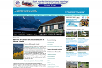 Canmore, Alberta and Kananaskis Travel Guide website