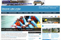 Discover Lake Louise website